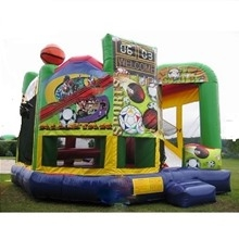 Inflatable - Bouncer combo, XL - All Sport