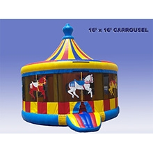 Inflatable - Bouncer, large (Carousel )