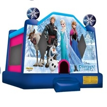 Inflatable - Bouncer, Large (Frozen)