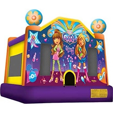 Inflatable - Bouncer, Large, (Its a Girl Thing)