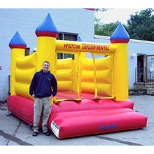 Inflatable - Bouncer, medium (Castle)