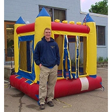 Inflatable - Bouncer, small (Castle)