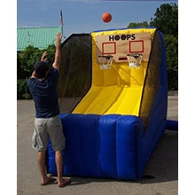 Inflatable - Game - Basketball, electronic