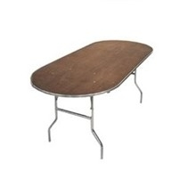 Table, oval, 8'