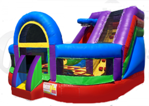 Inflatable - Bouncer combo - large Twister