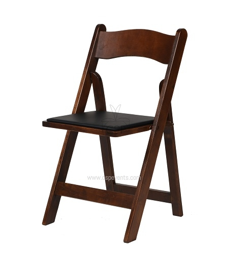Chair, wood, walnut