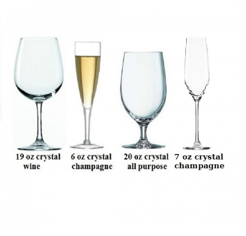 Glassware, Crystal two