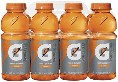 Thirst Quencher Drink, Orange, 20-oz., 8-Pk.
