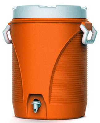 5-Gallon Orange Water Cooler
