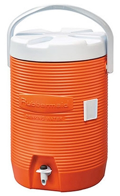 3-Gallon Orange Water Cooler
