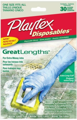 Disposables Great Lengths Gloves, One Size, 30-Ct.