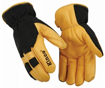 Premium Grain Deerskin Leather Glove, Men's Large