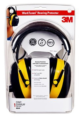 Hearing Protector Earmuff With AM/FM Radio