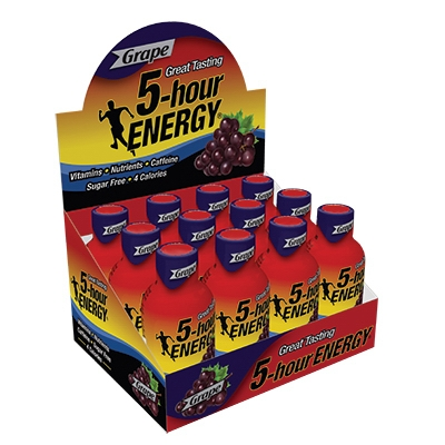 5-Hour Energy Drink, Grape