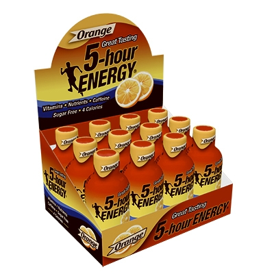 5-Hour Energy Drink, Orange