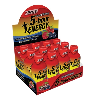 5-Hour Energy Drink, Berry, 1.93-oz.