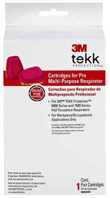 Replacement Cartridges For Professional Multi-Purpose Respirator