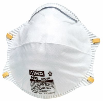 2-Pack N95 Harmful Dust Respirator