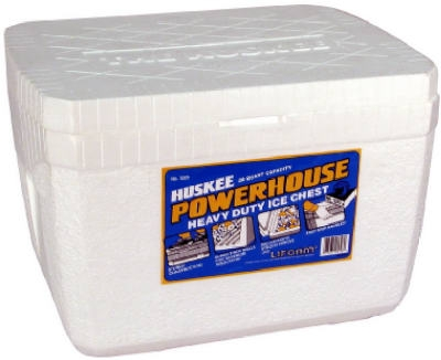 28-Qt. Heavy-Duty Styrafoam Ice Chest