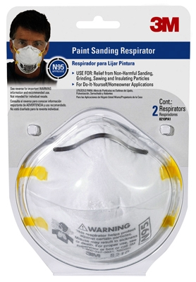 2-Pack N95 Respirator Dust Mask