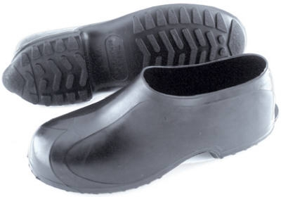 Black Rubber Overshoe, Medium