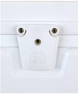 White Replacement Latch Set
