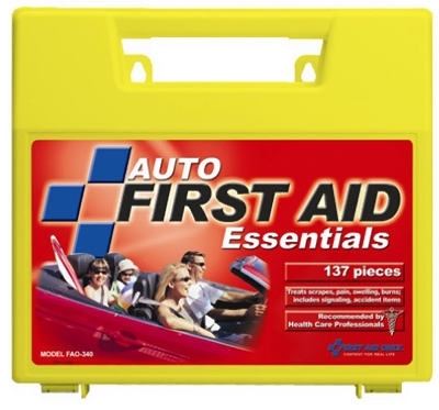 137-Piece Auto First Aid Kit