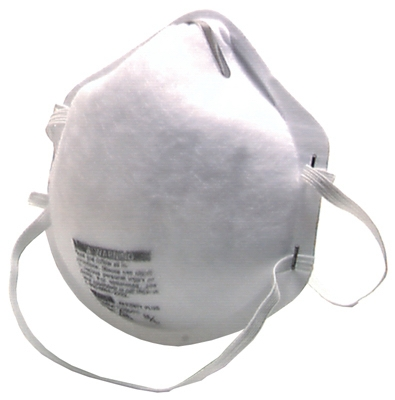 20-Pack N95 Dust Respirators