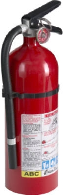 Pro/ Commercial 210 Fire Extinguisher, Rated 2-A:10-B:C