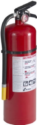 Pro/ Commercial 460 Fire Extinguisher, Rated 4-A:60-B:C,