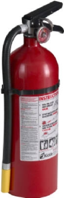 Pro/ Commercial 340 Fire Extinguisher, Rated 3-A:40-B:C