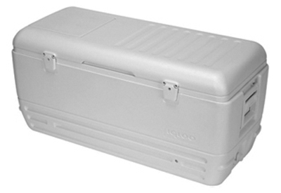 Quick & Cool Marine Cooler, White, 15-Qts.