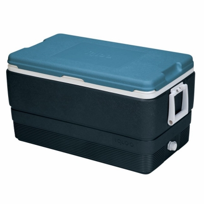 Maxcold Ice Chest, Telescoping Handle, 114-Can Capacity, 70-Qts.