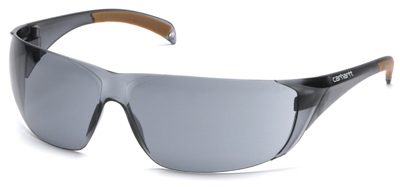 Safety Glasses, Gray Lens/Gray Frame
