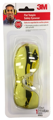 Safety Glasses, Black/Yellow