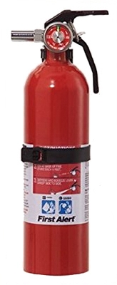 Fire Extinguisher, 2-Lbs., 5-B:C, Must Purchase in Quantities of 4