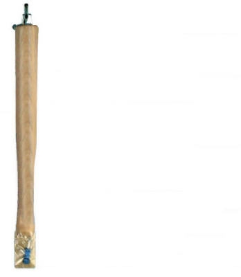 Hammer Handle, Ball Pein, Hickory, 12-In.