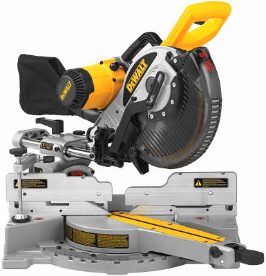 Double Bevel Sliding Compound Miter Saw, 10-In.