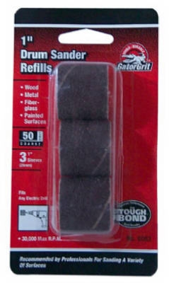 3-Pack 1x1-Inch Coarse Resin Cloth Sleeve