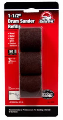 3-Pack 1-1/2x1-1/2-Inch Coarse Resin Cloth Sleeve