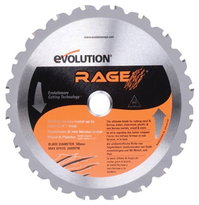 Tungsten Carbide-Tipped Multi-Purpose Blade, 7.25-In., 20-Teeth