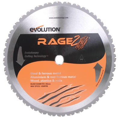 Tungsten Carbide-Tipped Multi-Purpose Blade, 14-In., 36-Teeth