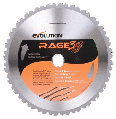 Tungsten Carbide-Tipped Multi-Purpose Blade, 10-In., 28-Teeth