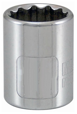 3/8-Inch Drive 1/2-Inch 12-Point Socket
