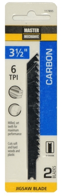 2-Pack 3.5-Inch 6-TPI Carbon Jigsaw Blade