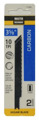 2-Pack 3-5/8-Inch 10-TPI Carbon Jigsaw Blade