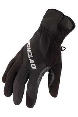 Summit Fleece Cold Weather Gloves, Black, Large