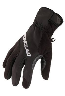 Summit Fleece Cold Weather Gloves, Black, XL