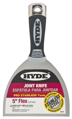 Joint Knife, Flexible Steel Blade, 5-In.