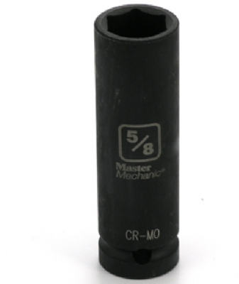 1/2-In. 5/8-In. 6-Point Deep Impact Socket